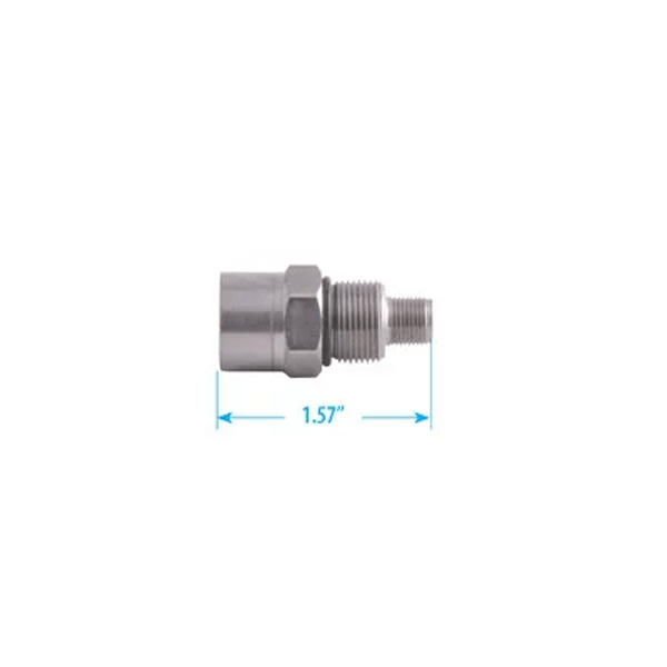 BAFF Adapter, Connector to F Series Female with Self sizing Contact