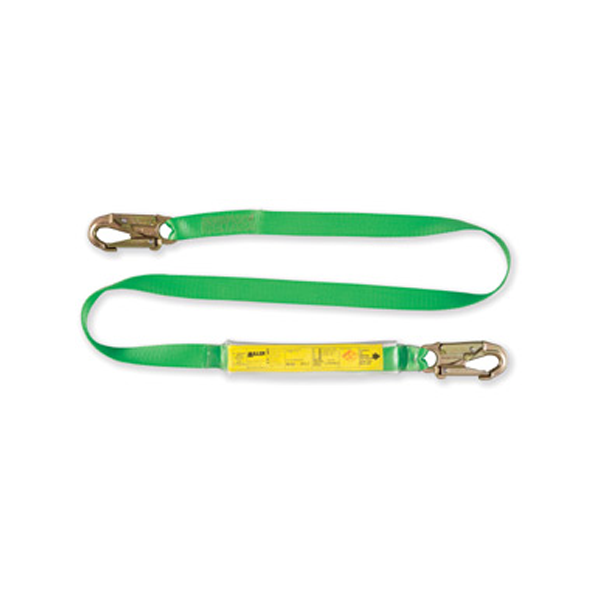 Honeywell Miller Fall Arrest Lanyard - Energy Absorbing Webbing - Single - 2M