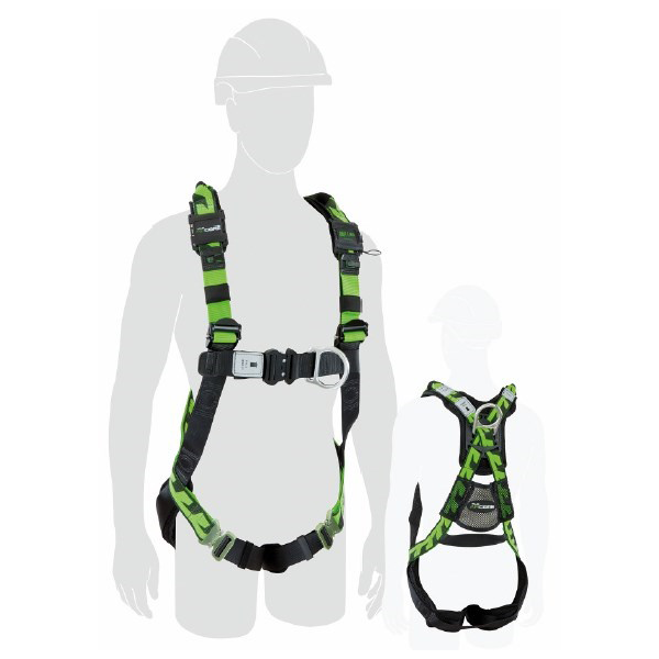 Honeywell Miller Aircore Full-Body Construction Harness with Aluminium Hardware (Medium- Large)