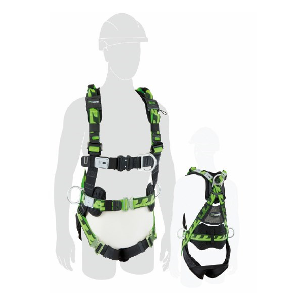 Honeywell Miller Aircore Riggers Harness (Full-Body) with Aluminium Hardware (Medium- Large)